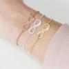 armband met infinity teken met gravering