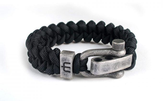 goedkope mannenarband dusty black