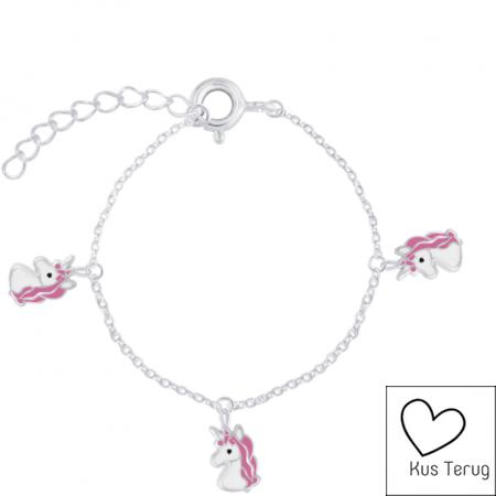 armbandje met unicorns
