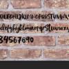 naamborden voor buiten kusterug