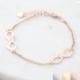 infinity armband voor 2 namen