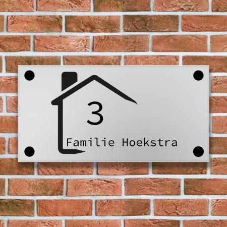modern naambord kusterug.nl