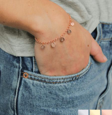 armband met muntjes